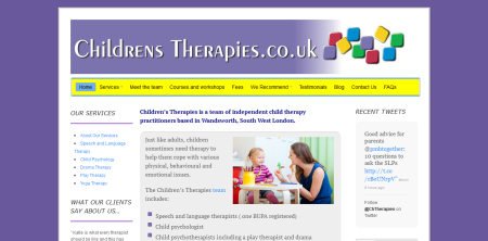 Childrens Therapies - www.childrenstherapies.co.uk