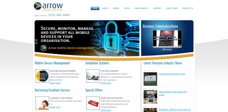 Arrow Communications - www.arrowcommunications.co.uk
