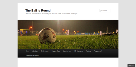 The Ball Is Round - www.theballisround.co.uk